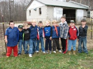 We also hosted a Boy Scout Troop
