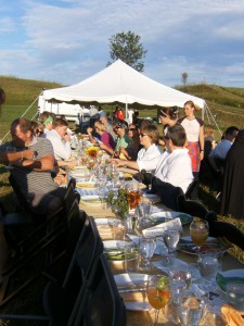 4 Chef's and A Pig dinner on the farm